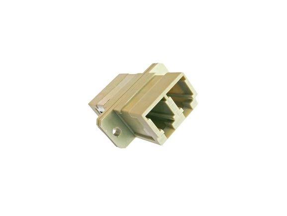 SP-LC-01 optická spojka LC, duplex, MM, béžová