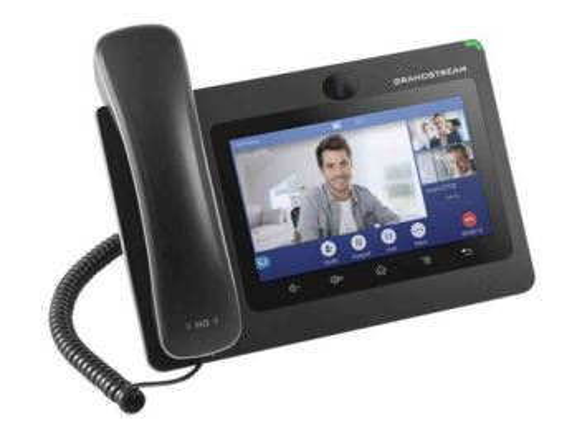 GRANDSTREAM GXV3370 VoIP videotelefon, 16xSIP účet, HD audio, 2xGLAN, POE, WIFI, LCD 7