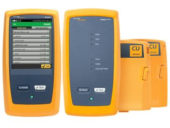 FLUKE DSX-8000-W INT certifikační kabelový analyzér, 2GHz, kat. 8, třída I/II, WIFI