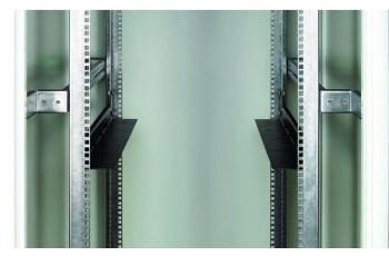 CONTEG DP-DU-300-H zátěžové podpěry, h. 242mm pro rozteč vertikálních lišt 296mm, černé