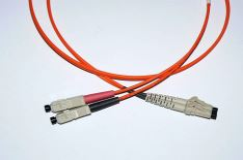 LC-SC-1-M5DL optický propojovací kabel LC-SC duplex MM 50/125um 1m