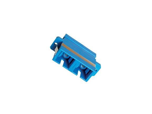 SP-SC-04 optická spojka SC, duplex, SM, modrá