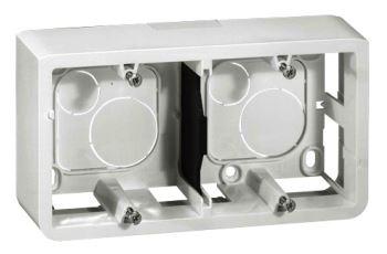 LEGRAND 80285 instalační krabice na omítku pro 4-5 modulů, hl. 40mm, bílá