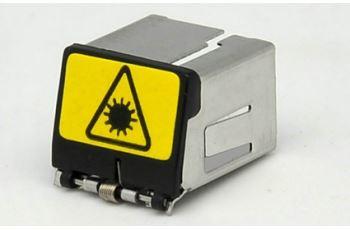 SP-KR-01 nástavec s automatickou krytkou na optické spojky LC duplex a SC simplex